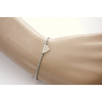 bracelet ethnique triangle cristal by EmmaFashionStyle